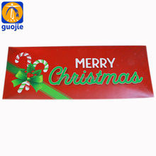 Outdoor Advertising pvc vinyl Decorations Christmas Letter Banner Merry Christmas banner