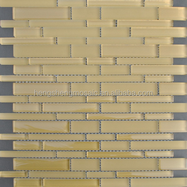 Mosaic tabletop designs self adhesive glass mirror tile