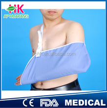 cheaper cotton orthopedic colored arm slings with CE & FDA (direct factory)