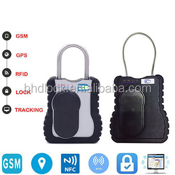 security cargo container electronic seal padlock GPS tracking lock