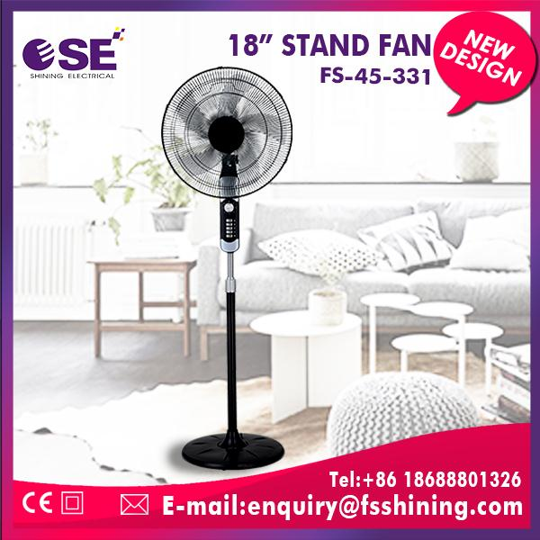 New design wholesale battery powered stand fan