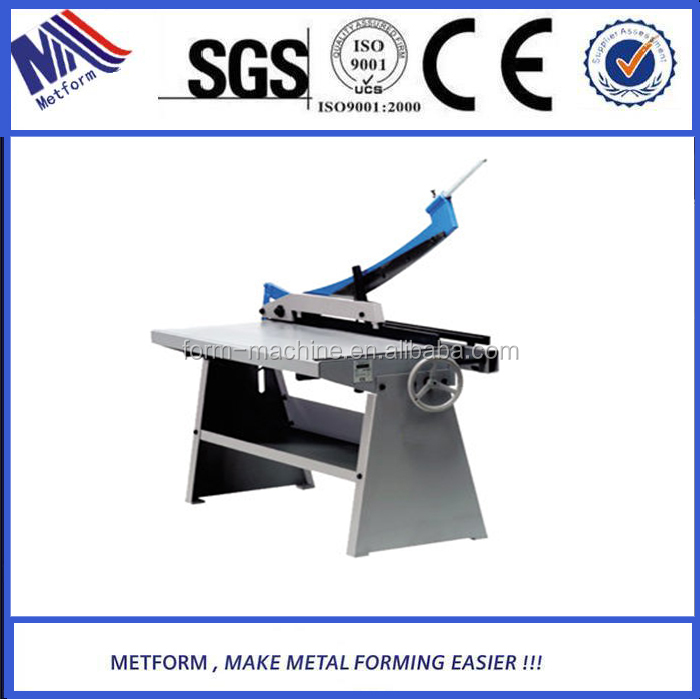 Metformin cost effective Manual Guillotine Shear <strong>Machine</strong> KHS-1000/1250 with new Technology