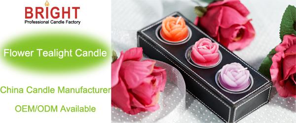 Mini forma flor planta parafina 58 grado manual artímuco artesanía vela en lata metálica