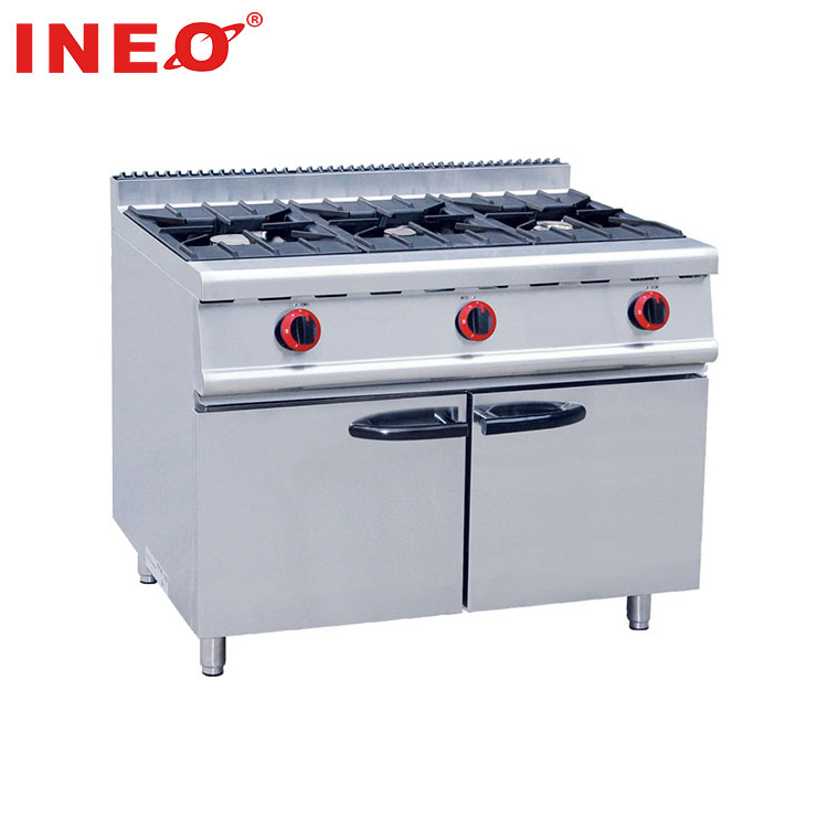 Wholesale Restaurant Gas Range Double Oven Stove/Stainless Steel Stove