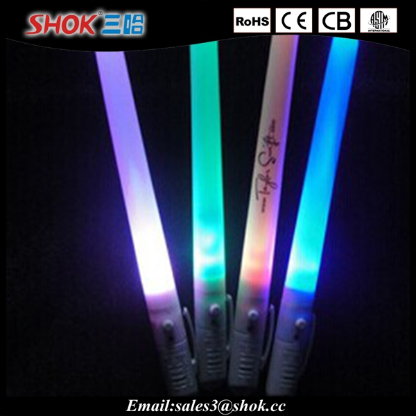 LED pen Glow Sticks China Manufacturer with led pen mode stick