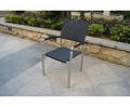 China Supplier Space Saving Skackable Restaurant outdoor rattan chair