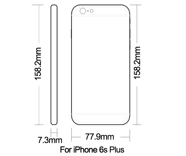 for iphonr 6s white housing