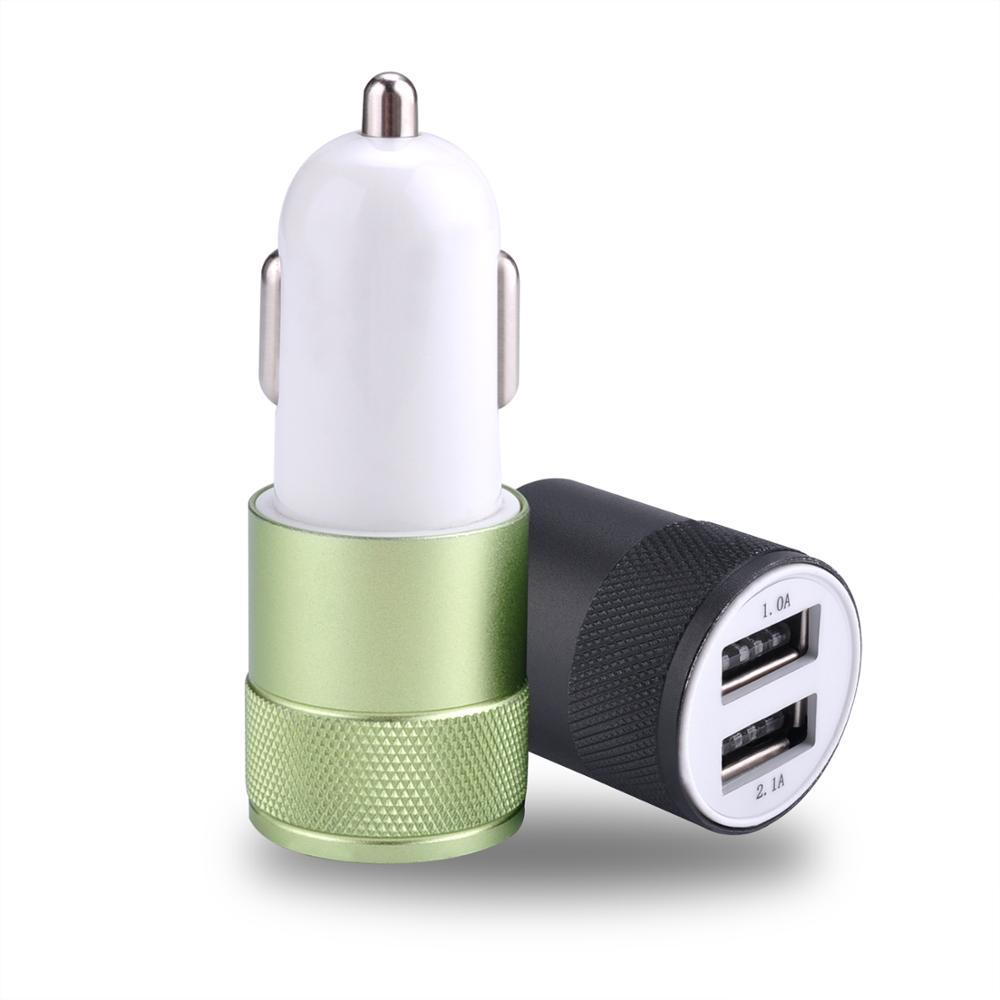 Smart Mobile Phone Universal Electric 2 Ports Dual USB Car Charger for iPhone iPad Samsung LG Sony Huawei Xiaomi HTC Nokia Moto