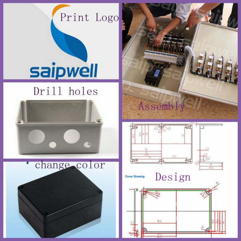 Manufacturer Saipwell 300*400*150mm waterproof stainless steel enclosure