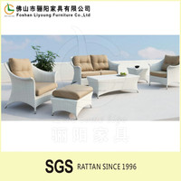 poly wicker garden sofas on sale Luxury Patio Easy Cleaning 4 seaters sofa set rattan outdoor furniture