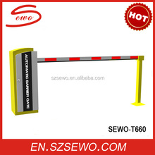 Remote Control/ RFID/ Manual /Button Operation Automatic Parking Lot Barrier Gates (SEWO-T660)