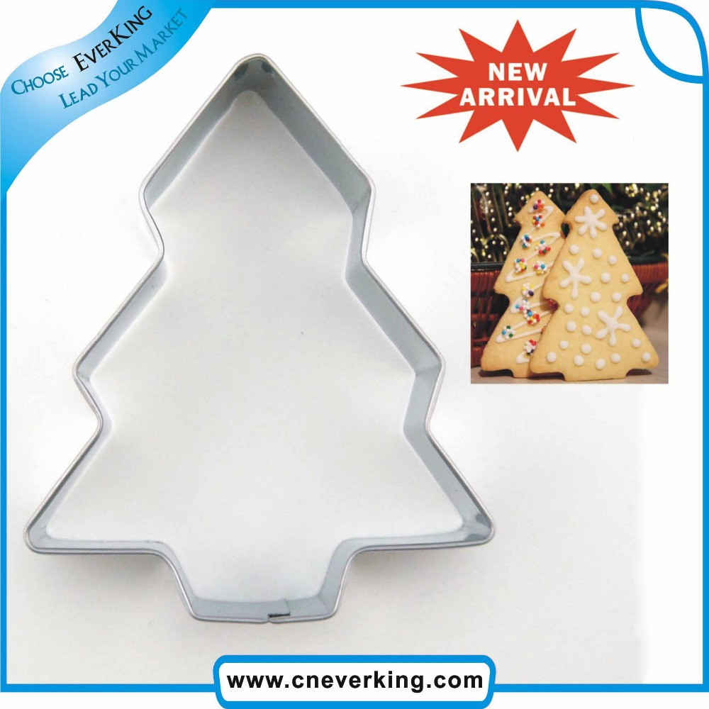 Promotional plastic stainless steel cookie cutter with high quality