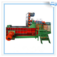 Mobile Scrap Refrigerator Shell Bale Making Machine