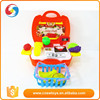 Hot sale pretend play fruit set children plastic emulational playing toy kids food toy