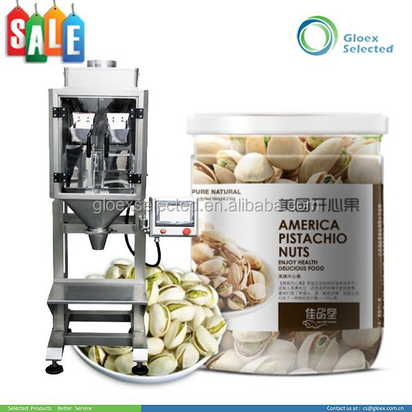 Semi-automatic Liner Weigher packaging machine for roasted peanuts