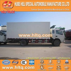 DONGFENG brand delivery van 120hp 4X2 good quality and best selling made in China for export.
