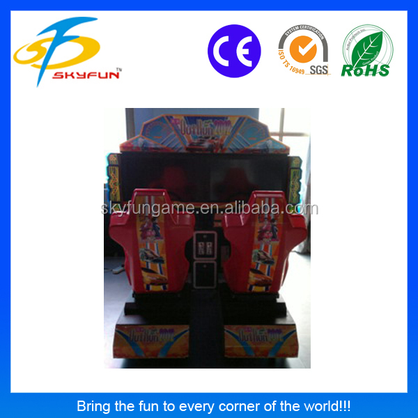 32 inch outrun(double players) electronic coin operated car driving game machine