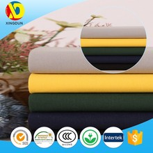 China textile plain dyed 100 cotton canvas fabric for shoes