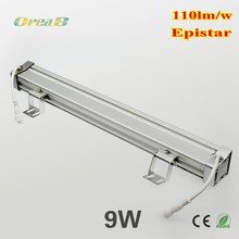 Aluminum epistar outdoor in ground wall washer lighting