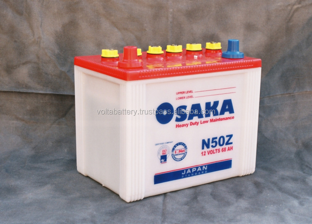 80D26L/R 12V 60 AH Car battery