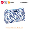 Marine Style Low Cost Custom Portable Shaving Bag Make Up Bag Wash Pouch With Dot Shape
