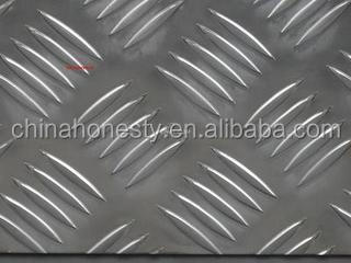 Ribbed aluminum plate 1200 for flooring