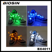 Innovative Christmas gifts and crafts night lighting fashion led shoelaces for sports