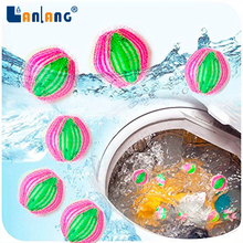 washing machine cleaning products eco lint grabbing nylon laundry ball