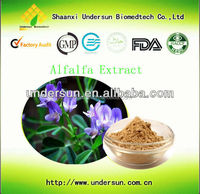 Factory supply top quality Alfalfa extract, bulk alfalfa