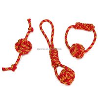 2018 high quality nylon rope pet supplies wear-resisting Resistance to bite endure dirty for dogs
