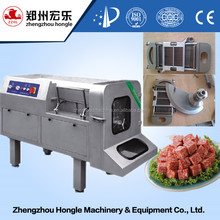 meat cube cutting machine / meat cube cutter / fresh meat cube dicer machine