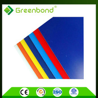 Greenbond construction billboard sign Aluminum Composite Panels