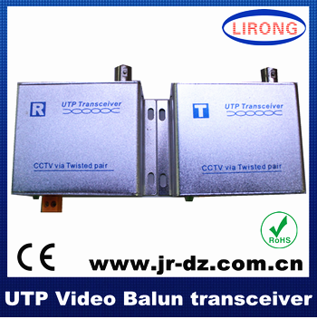 Security Camera 1-Channel BNC Cat5e Active Video Balun