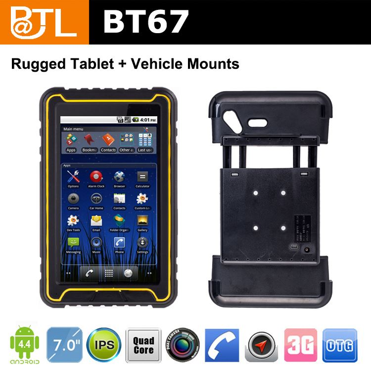 WDF1612 BATL BT67 factory price cheap android tablets in bulk with OEM ,for cargo tracker