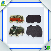 china supplier car shape fridge magnet and kids fridge magnet sticker