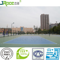 UV resistance volleyball court sports flooring for outdoor used