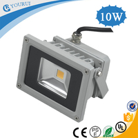 Warranty 2 year IP65 Epistar 10w emergency camping rechargeable led floodlight