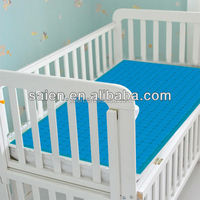 cooling and soft non-toxic kid bed use gel memory foam mattress