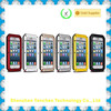 Metal Frame Natural Silicone Back Cover Case For Apple iPhone 5 6 6s Plus