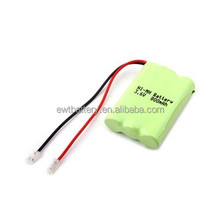 ni-mh battery pack aaa 600mah 3.6v nimh battery for cordless phone