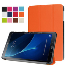Foldable stand folio leather case for Galaxy Tab A 10.1inch T580/T585 protective tablet cover