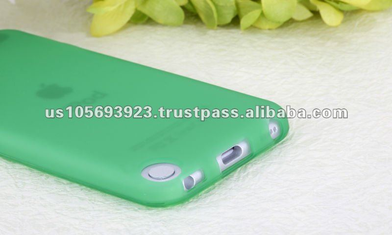 IMPRUE green matte tpu case for Ipod touch 5
