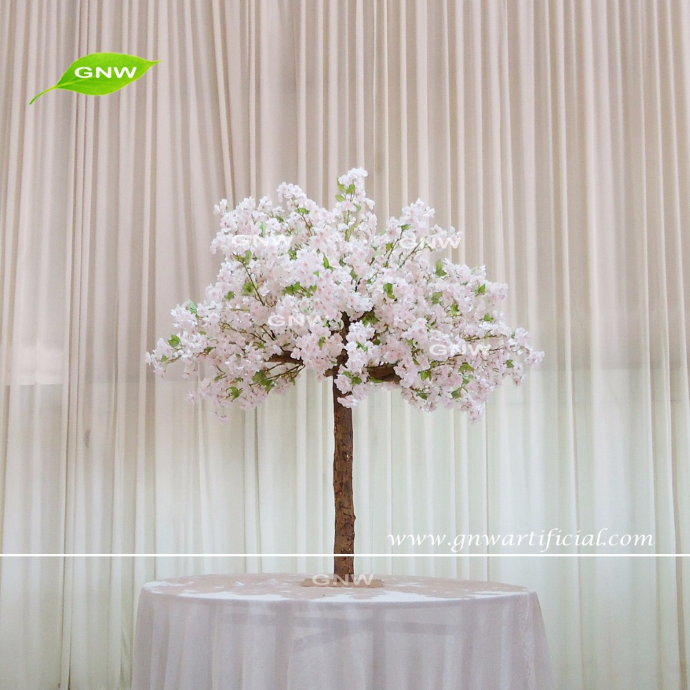 Gnw Manufacturer Decorative Artificial Flower Tree Wedding Table ...