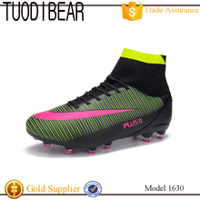 2017 new model customized durable fashion comfortable factory OEM soccer boots football shoes men