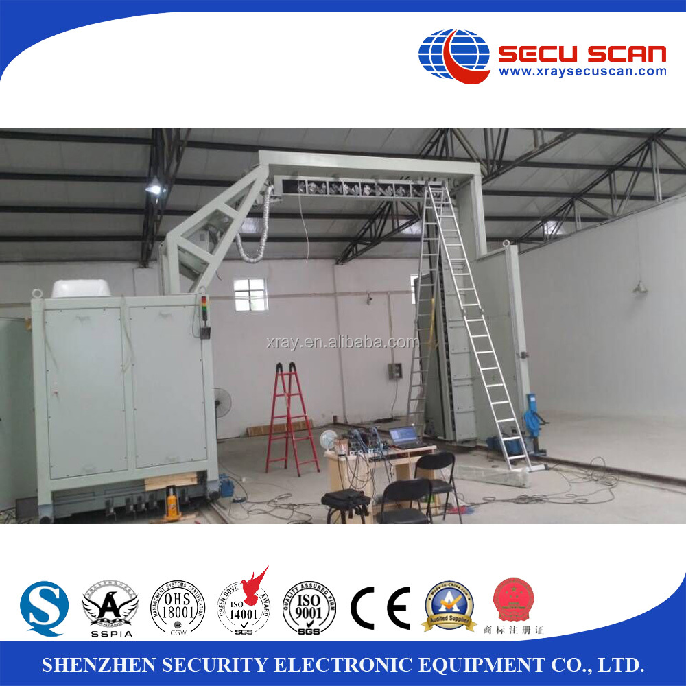High penetration xray container scanner, x-ray inspection system for seaport