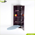 Floding wall mounted ironing board cabinet cover in high quality cotton