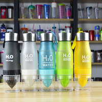 2015 new plastic infuser water bottle