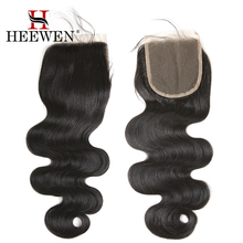 brazilian human hair topper jet black hair body wave weave bundles with lace closure
