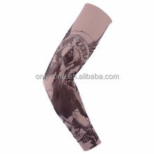 Wholesale Fashion Outdoor Imprinted Tattoo Compression UV Arm Sleeves