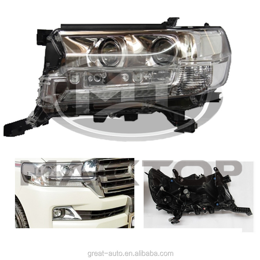 Tow New Auto Body Parts Headlamp for Land Cruiser 200 2016
